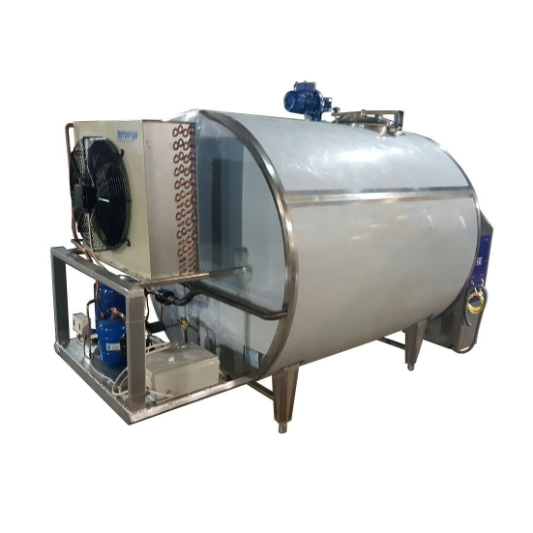 Танк-охладитель молока закрытого типа