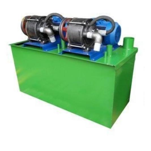 Установка вакуумная водокольцевая НВУ-75-2
