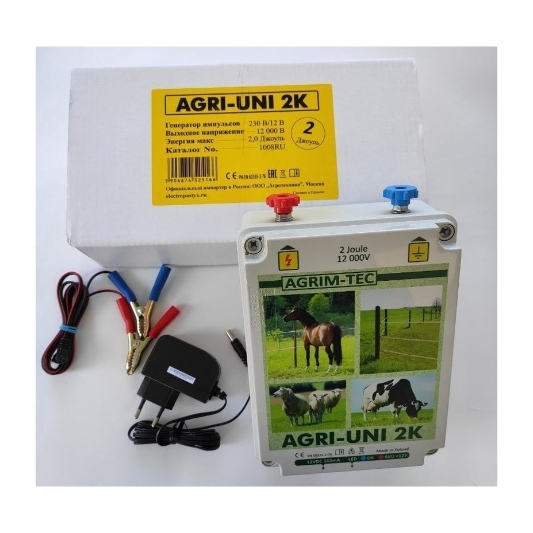 Электропастух AGRI UNI 2K