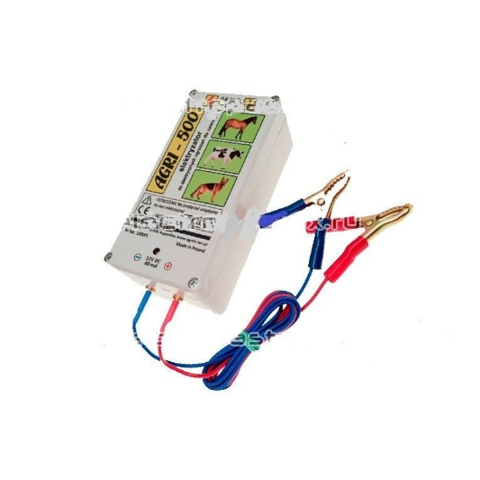 Электропастух AGRI-500 с адаптером